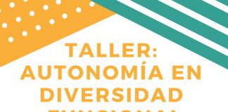 Taller autonomía en diversidad funcional, en Espai Conexió.
