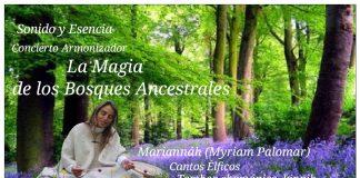 Concierto Armonizador en Alaquàs. La Magia de los Bosques Ancestrales. Cantos élficos. Tambor Chamanico. Sonido y Esencia