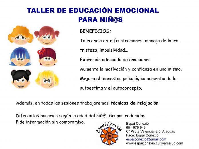 clases de educación emocional para niñ@s en Alaquàs