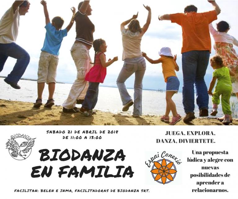 BIODANZA EN FAMILIA Sábado 21 abril