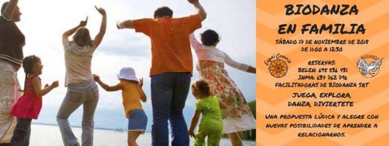 TALLER DE BIODANZA EN FAMILIA EN ALAQUÀS
