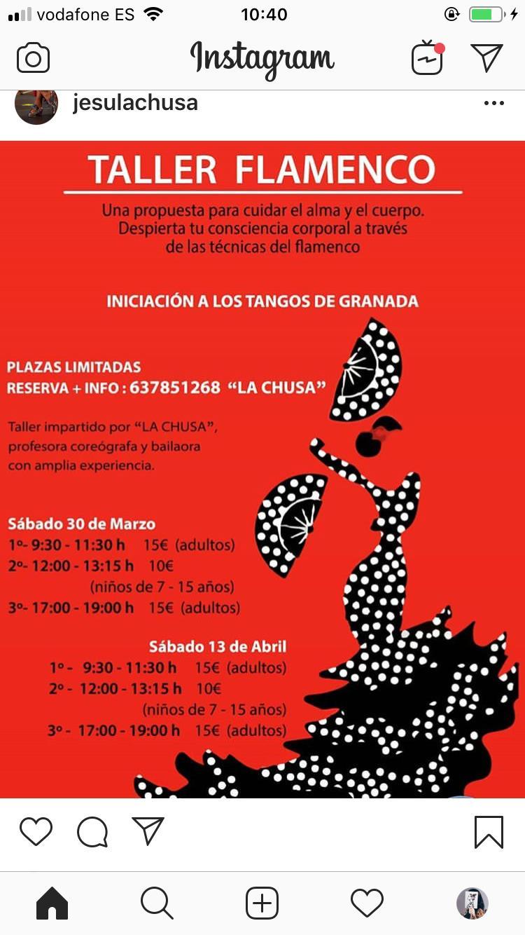 Taller Flamenco en Alaquàs